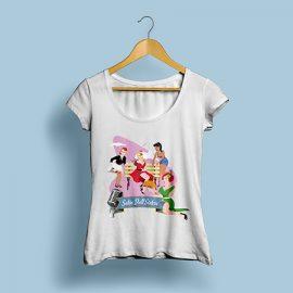 T Shirt Satin Doll Sisters